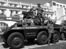 Историческая реконструкция: Американские воины Стоковое Фото