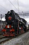 Историческая реконструкция ` поезда победы ` Стоковые Фото