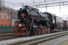 Историческая реконструкция ` поезда победы ` Стоковое Изображение