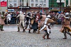 Историческая реконструкция Стоковое Фото