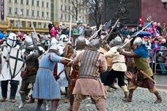 историческая реконструкция Стоковая Фотография