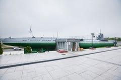 Историческая русская воинская подводная лодка Стоковая Фотография RF
