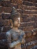 Историческая скульптура buddhish стоковая фотография