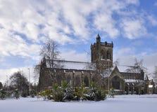 Историческая сцена зимы Пейсли Стоковое Фото
