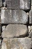 Историческая текстура каменной стены Стоковое Изображение