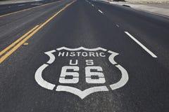 историческая трасса 66 стоковое фото