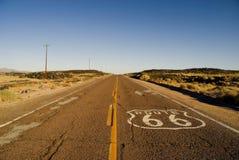 историческая трасса 66 Стоковые Фото