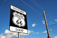 Историческая трасса 66 Стоковая Фотография RF