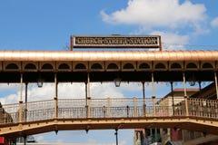 Историческая улица церков Стоковое Фото