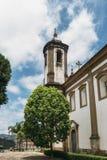 Историческая церковь в Ouro Preto, минах Gerais, Бразилии стоковые фото