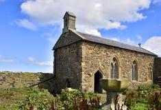 Историческая часовня острова северной восточной Англии Стоковая Фотография