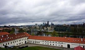 Историческая часть Вильнюса Стоковое Изображение RF