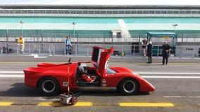 Исторические автогонки спорт Стоковое фото RF