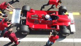 Исторические автогонки спорт Стоковые Изображения RF