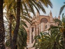 исторические визирования Ла Seu стоковое изображение