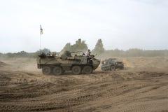 Исторические военные транспортные средства Стоковое Фото