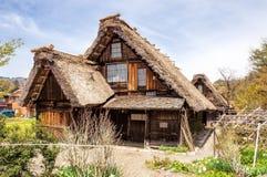 Исторические деревни  shirakawa-gÅ Стоковые Фото