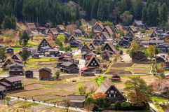 Исторические деревни Shirakawago Стоковое фото RF