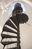 Исторические лестницы маяка Стоковые Изображения