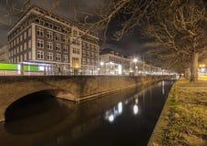 Исторические жилые дома в Гааге Стоковые Изображения RF