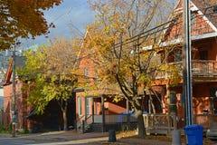 Исторические здания в Оттаве, Канаде Стоковые Изображения