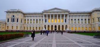 Исторические здания в Санкт-Петербурге, России стоковое фото
