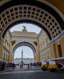 Исторические здания в Санкт-Петербурге, России стоковая фотография