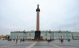 Исторические здания в Санкт-Петербурге, России стоковые фото