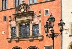 Исторические здания в старом городке в Праге, чехии Стоковые Изображения RF