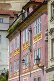 Исторические здания в старом городке в Праге, чехии Стоковые Фотографии RF