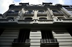 Исторические здания в столице Аргентины Буэноса-Айрес федеральной Стоковое Изображение RF