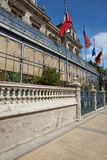 Исторические здания арен Punta стоковые фотографии rf