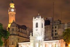 Исторические здания, Буэнос-Айрес, Аргентина стоковое изображение rf