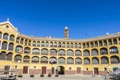 Исторические здания в Tarazona de Арагоне, Сарагосе, Испании Стоковое Изображение