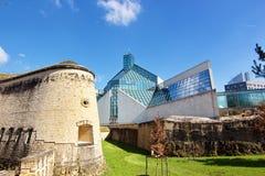 исторические и современные здания Стоковая Фотография