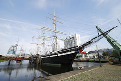 исторические корабли Стоковое Изображение RF