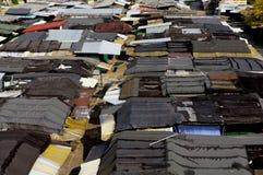Исторические крыши рыночного местя Стоковое Изображение RF