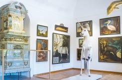 Исторические места Зальцбурга Стоковые Изображения