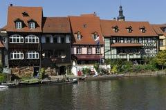 Исторические дома, Бамберг Стоковое Фото