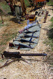 Исторические оружия Стоковые Изображения