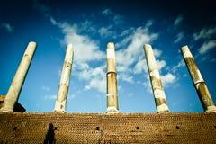 исторические реликвии rome Стоковое Изображение