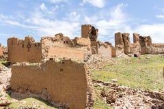 Исторические руины ани, Kars Турция стоковая фотография rf