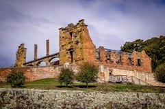 Исторические структуры каторжник в Порте Артур, Тасмании, Австралии стоковые фото