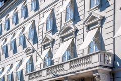 Исторические фасады Стоковое фото RF