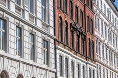 Исторические фасады стоковое изображение rf
