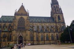 Исторические церков в Линце, Австрии стоковые фотографии rf