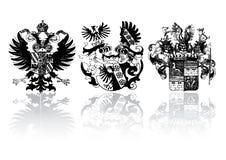 исторические экраны иллюстрация вектора