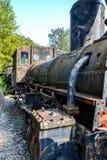 Исторический австрийский паровой двигатель Стоковая Фотография