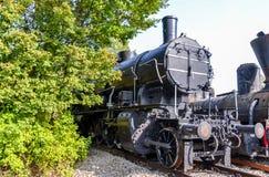 Исторический австрийский паровой двигатель Стоковые Фотографии RF