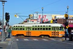 Исторический автомобиль улицы Стоковое Фото